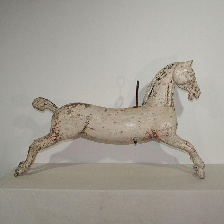 Late 19th Century French Carousel Horse In Good Condition For Sale In Amsterdam, NL