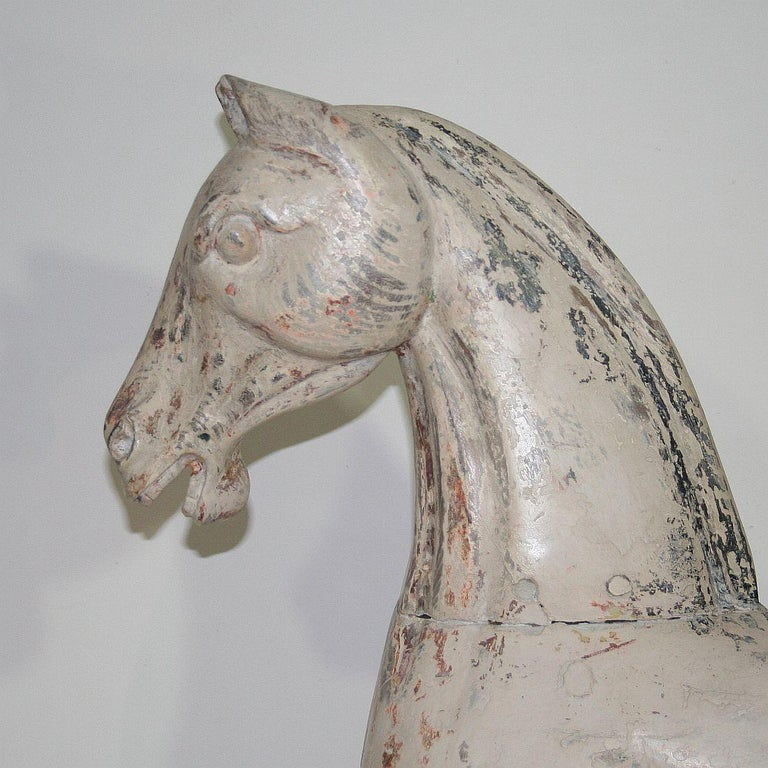 Late 19th Century French Carousel Horse For Sale 2