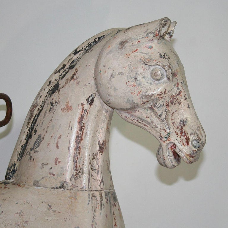 Late 19th Century French Carousel Horse For Sale 1