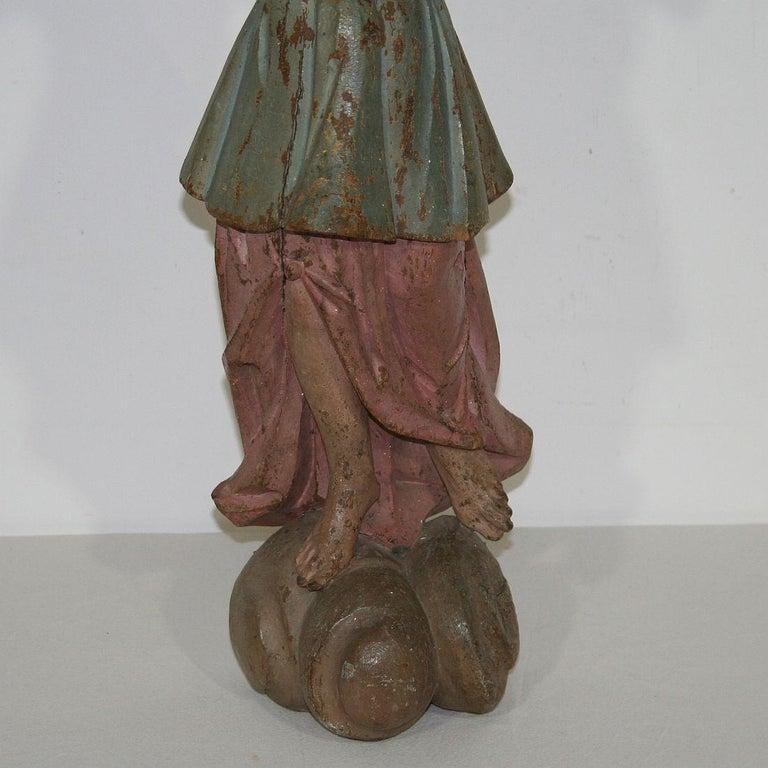 18th Century, Italian Baroque Angel Figure For Sale 7