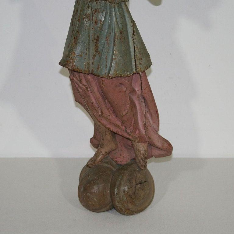 18th Century, Italian Baroque Angel Figure For Sale 8