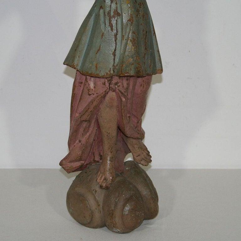 18th Century, Italian Baroque Angel Figure For Sale 9