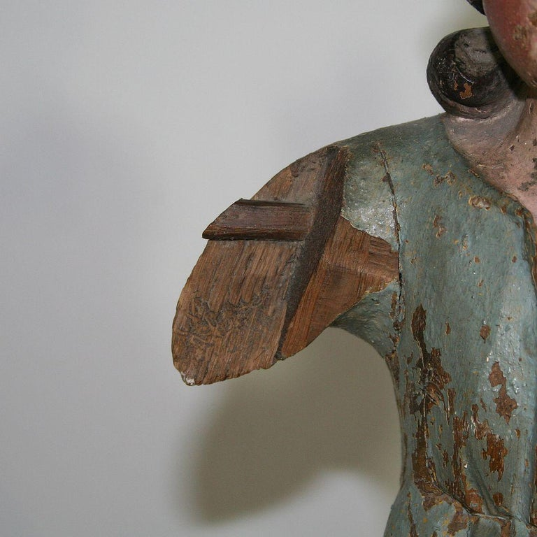 18th Century, Italian Baroque Angel Figure For Sale 13