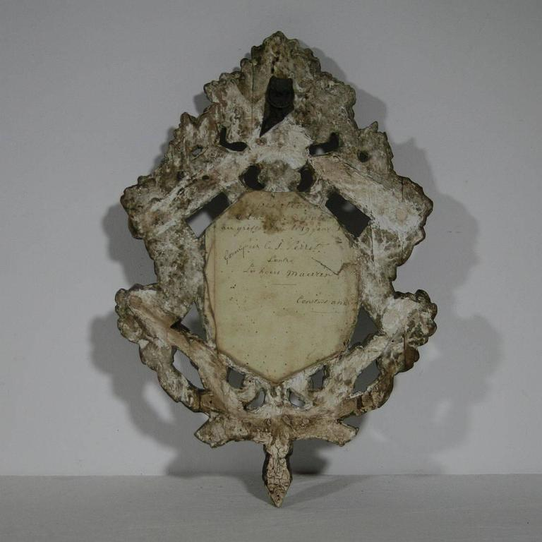 small 18th century italian baroque mirror for sale at 1stdibs