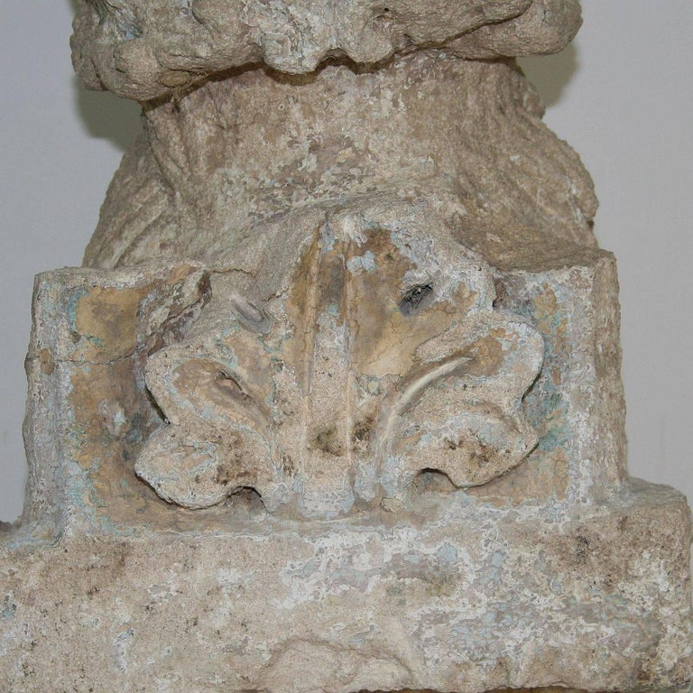 18th Century Italian Carved Stone Gargoyle in Romanesque Style For Sale 4