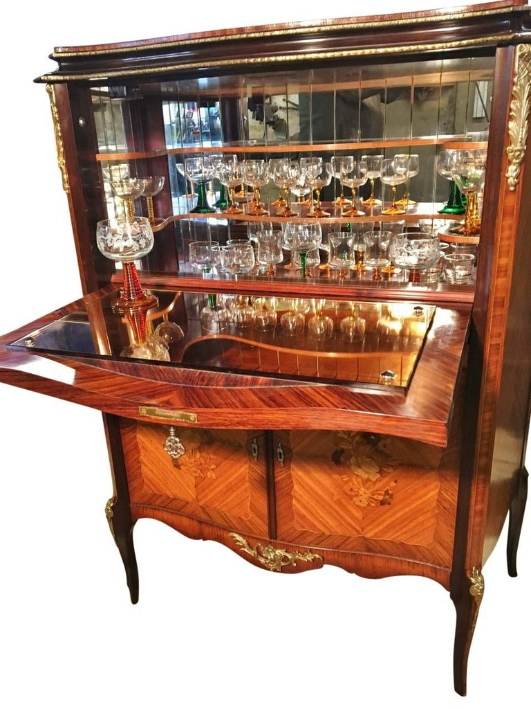 Cocktail and Drinks Cabinet, French, circa 188 at 18stdibs