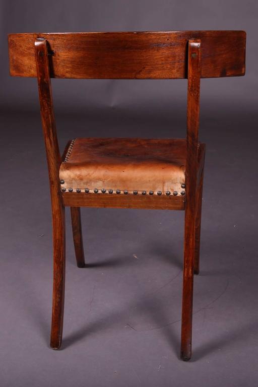 19th Century Empire Klismos Saber Legs Chair For Sale At