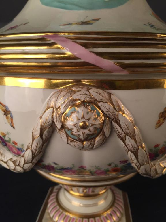 19th Century Huge KPM Berlin Vase Rare, Empire For Sale 1