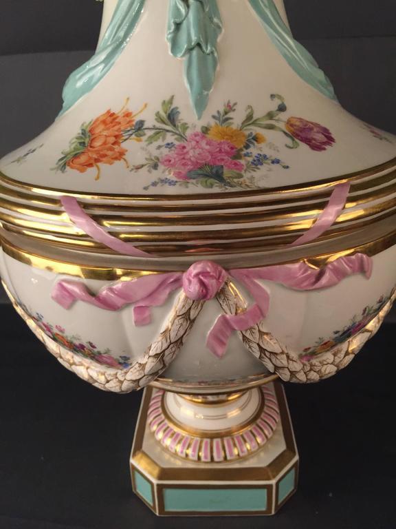 19th Century Huge KPM Berlin Vase Rare, Empire For Sale 2