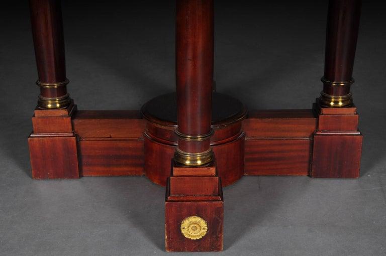 Empire Revival 19th Century Empire Salon Table, 1890 For Sale