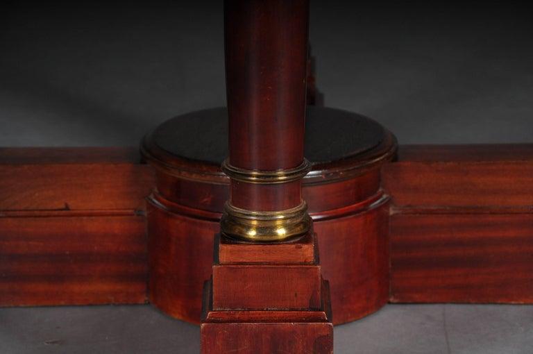 Wood 19th Century Empire Salon Table, 1890 For Sale