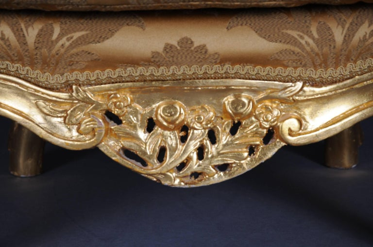 20th Century Louis XV Quinze Bergère Chair, Lounge For Sale 5