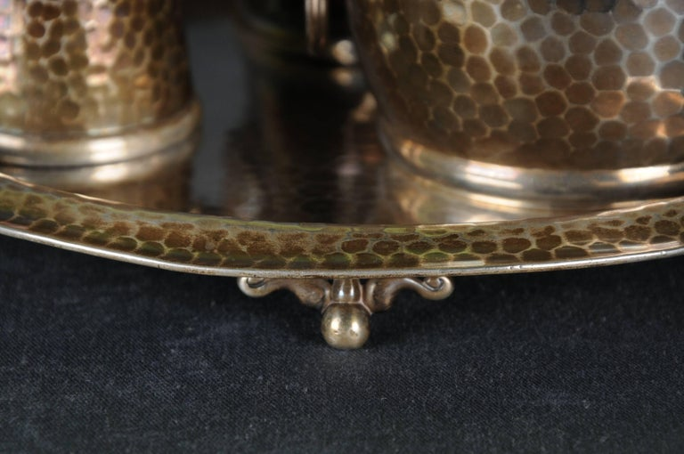 20th Century Tiffany & Co. Demitasse Sterling-Silver Set, Rare For Sale 2