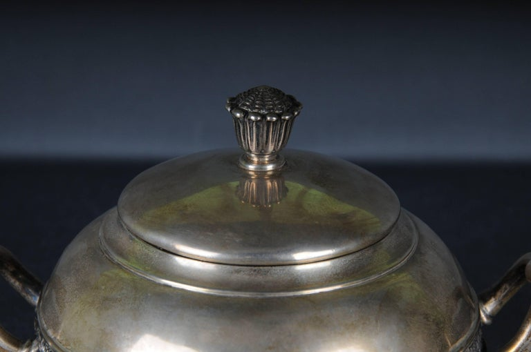 19th Century 20th Century Tiffany & Co Can, Sugar Box Sterling Silver, Rare For Sale