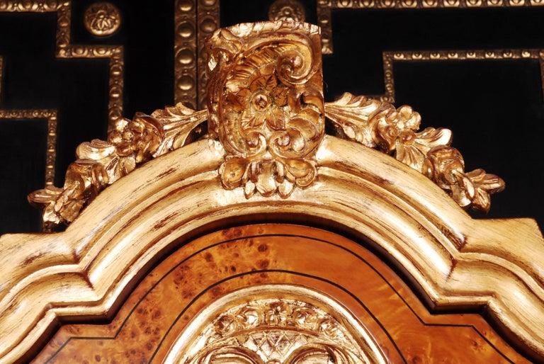 20th Century Baroque Style Dutch Vitrine Cupboard For Sale 3