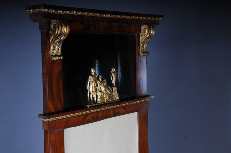 French 19th Century Court Empire Mirror, circa 1810 For Sale