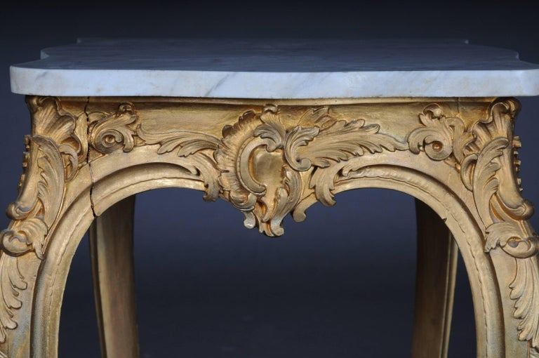 French Side Table Napoleon III, circa 1890 For Sale 1