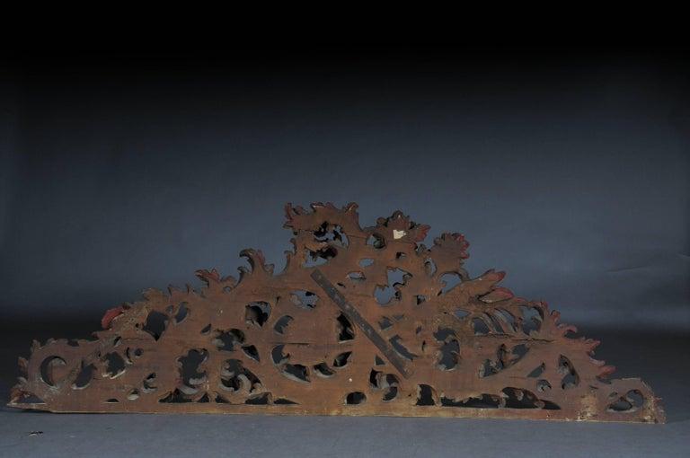 Large Baroque Supraporte / Ornamental Element, Mid-18th Century For Sale 4