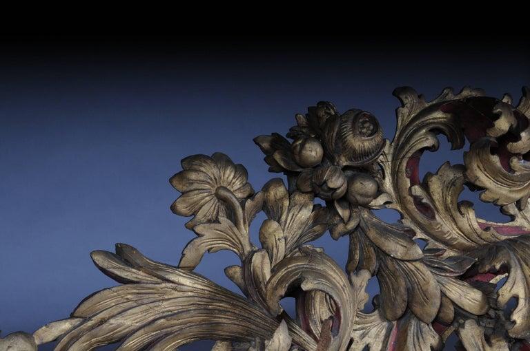 Large Baroque Supraporte / Ornamental Element, Mid-18th Century For Sale 2