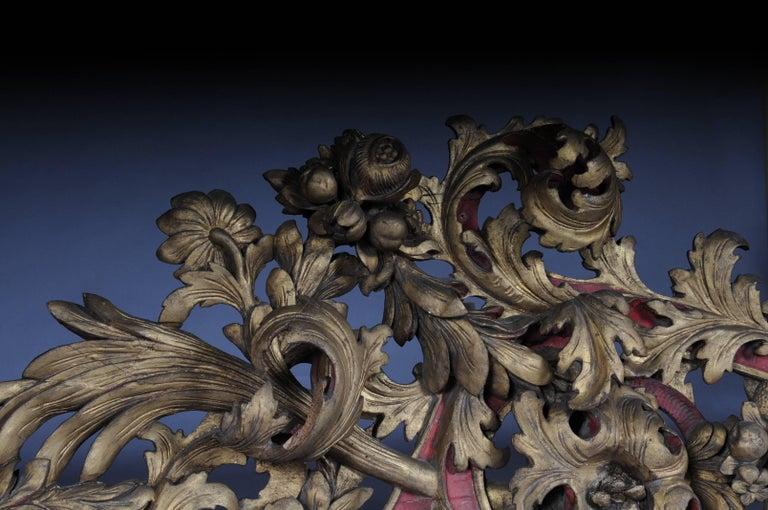 Large Baroque Supraporte / Ornamental Element, Mid-18th Century For Sale 3