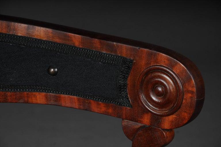 Antique Empire / Biedermeier Armchair, circa 1810, Mahogany For Sale 1