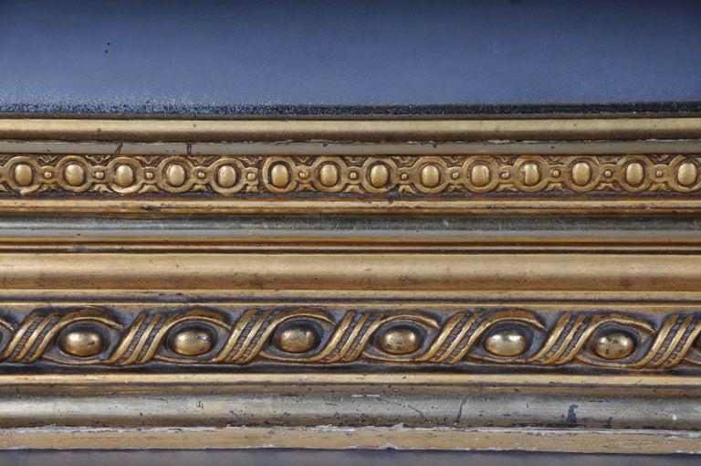 19th Century Classicistic Splendor Mirror Gilt Napoleon III For Sale 3