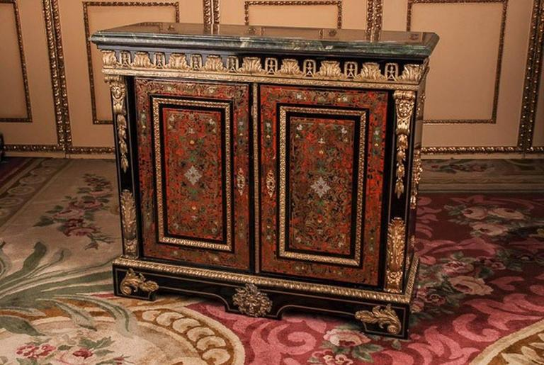 19th century louis quatorze napoleon iii boulle meuble d for Meuble napoleon 3