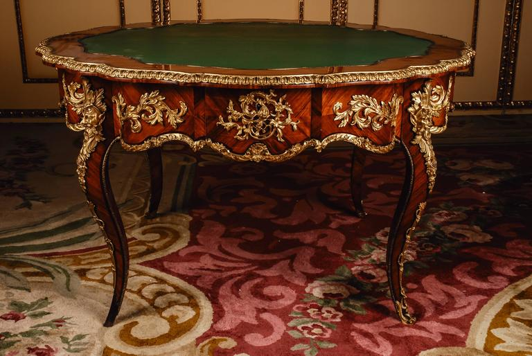 19th century louis xv salon table napoleon iii paris for for Salon louis xv