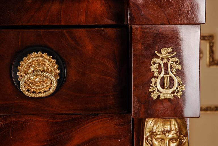 19th Century Lion Secretary Empire Berlin For Sale 3