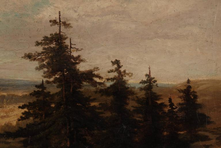 19th Century Landscape Oil Painting For Sale 2