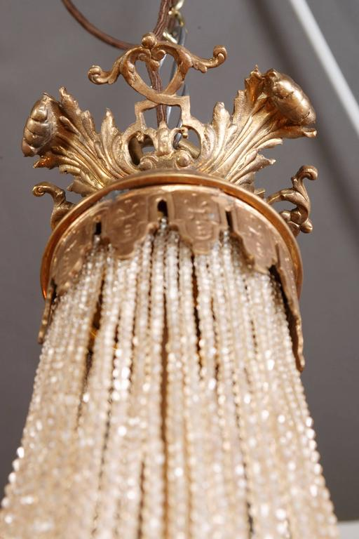 20th Century Empire Style Splendid Chandelier or Candelabra For Sale 2