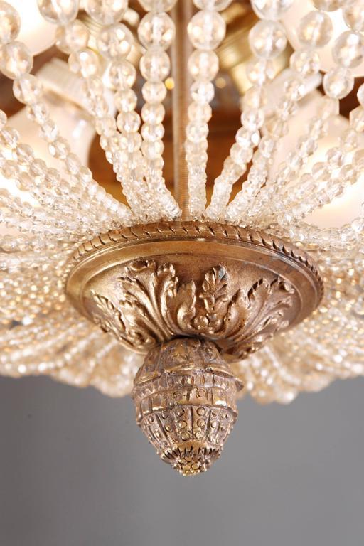 20th Century Empire Style Splendid Chandelier or Candelabra For Sale 3