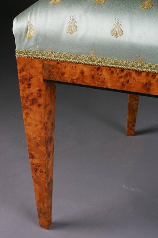20th Century Vienna Biedermeier Beech Chair after Josef Danhauser For Sale 3