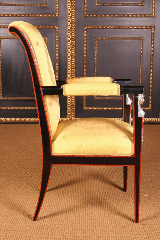 20th Century Empire Style French Garniture Living Room