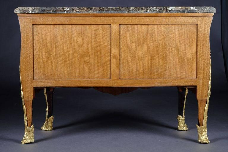 20th Century Rosewood Commode in the style of Charles Cressent For Sale 6