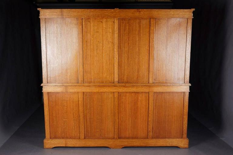 20th Century Louis XIV Style French Bibliotheque Bookcase For Sale 2
