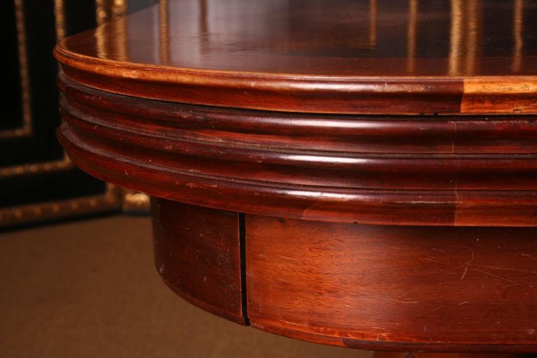 19th Century Biedermeier Extending Table For Sale 3