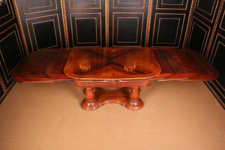 19th Century Biedermeier Extending Table For Sale 1