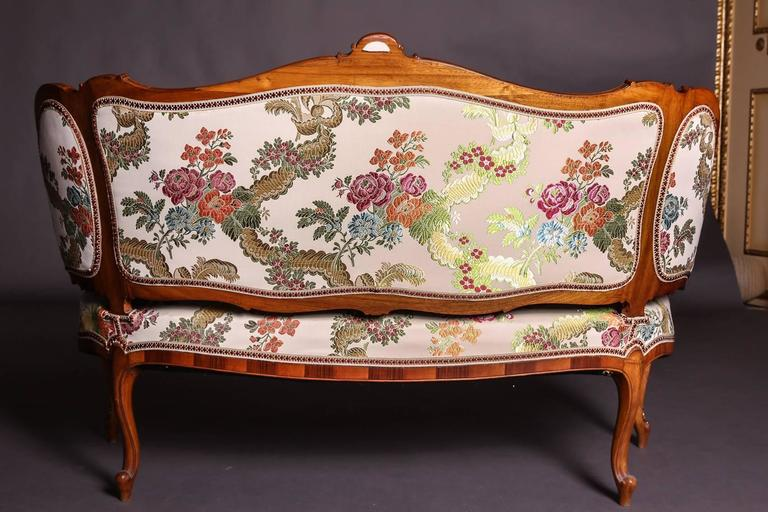 19th Century Baroque Saxony Seat Group 1880 For Sale 1