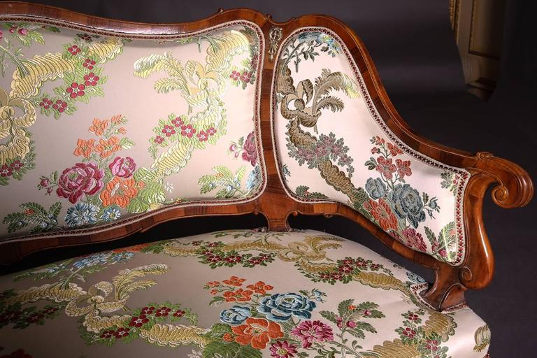 19th Century Baroque Saxony Seat Group 1880 In Good Condition For Sale In Berlin, DE