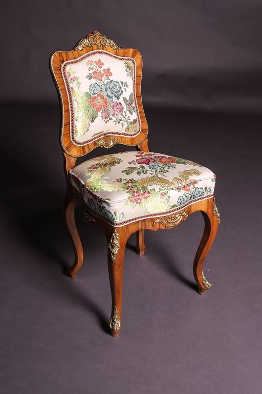 19th Century Baroque Saxony Seat Group 1880 For Sale 3