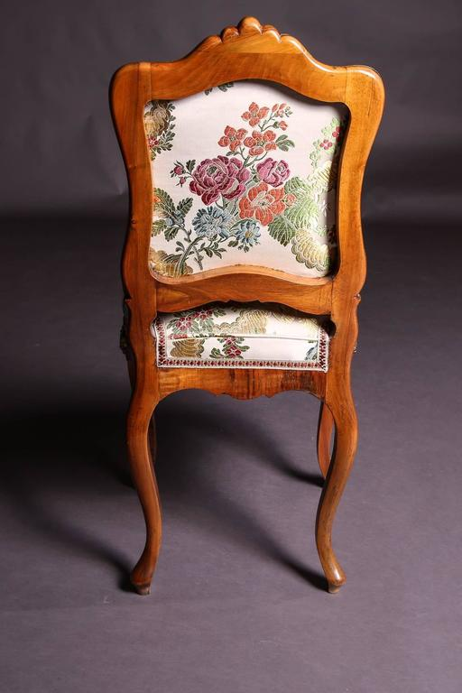 19th Century Baroque Saxony Seat Group 1880 For Sale 4