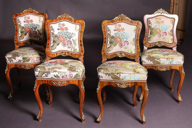 19th Century Baroque Saxony Seat Group 1880 For Sale 2