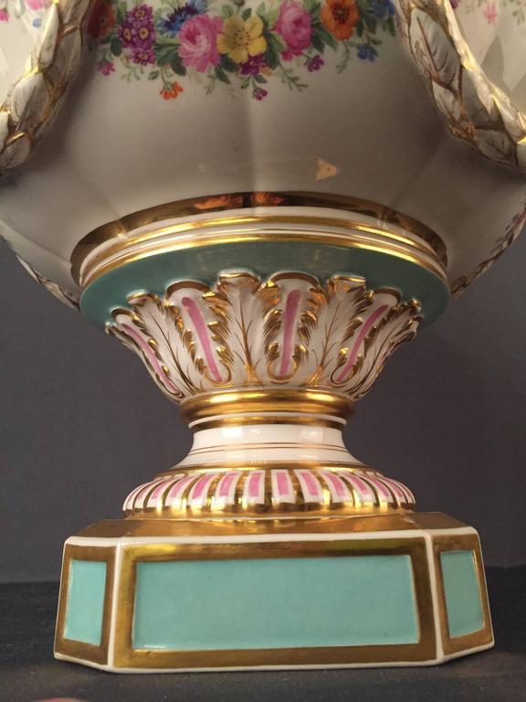 19th Century Huge KPM Berlin Vase Rare, Empire For Sale 3