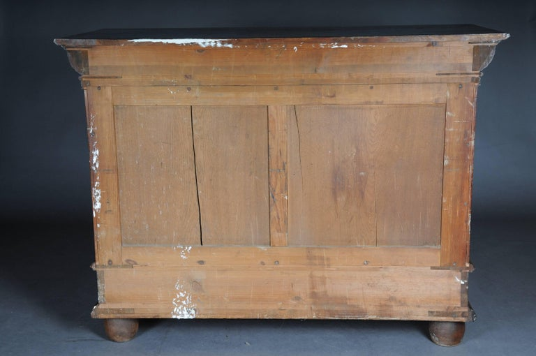 19th Century Neo Renaissance Console Buffet, Solid Oak For Sale 5