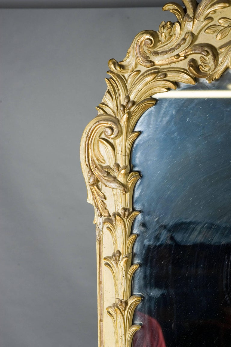 French 19th Century Monumental Baroque Style Mirror For Sale