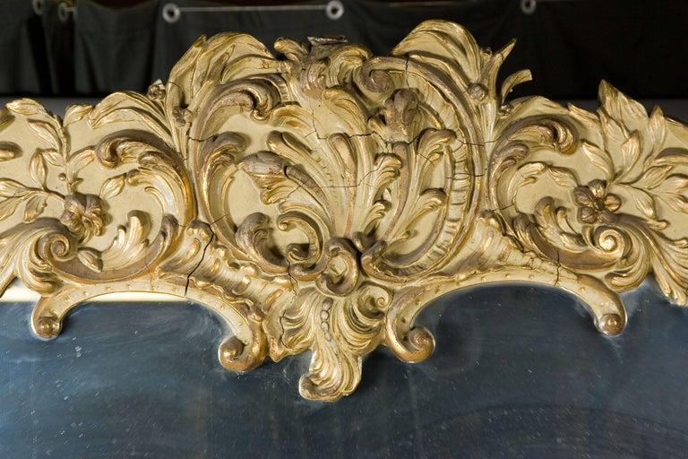 19th Century Monumental Baroque Style Mirror In Good Condition For Sale In Berlin, DE
