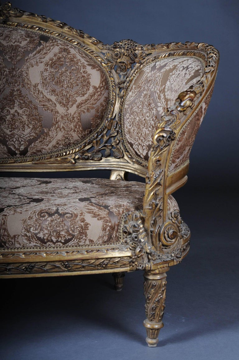 20th Century Magnificent French Sofa in the Louis XVI Seize For Sale