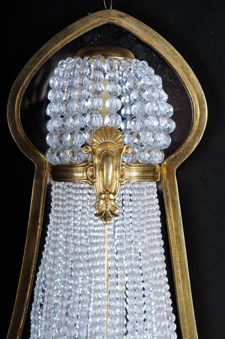 Louis XVI Unique Wall Lamp in Louis Seize Style, 1790 For Sale