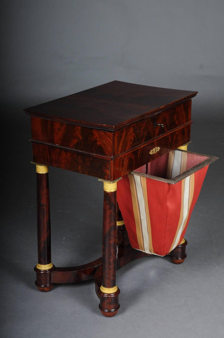 Early 19th Century Antique Empire Sewing Table, Paris, circa 1810 For Sale